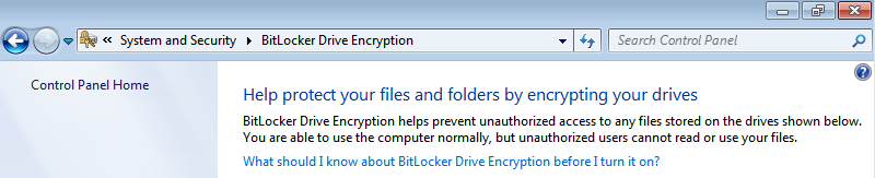 How to prepare Windows for BitLocker and Windows RE