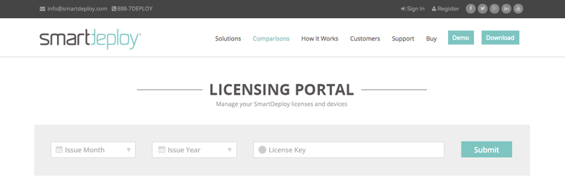 Top 4 questions about SmartDeploy license tracking